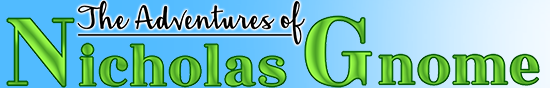 The Adventures of Nicholas Gnome Logo